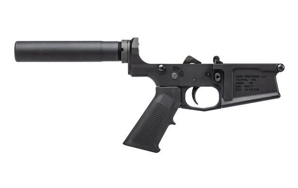 M5 (.308) Pistol Complete Lower Receiver w/ A2 Grip - Anodized Black