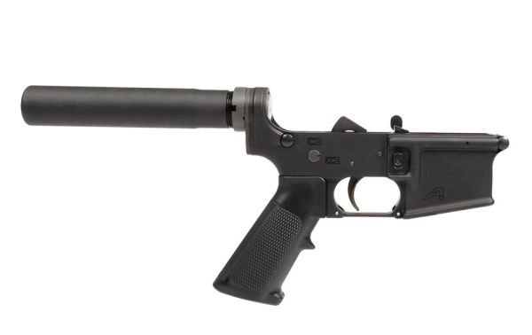 Aero Precision AR15 Pistol Complete Lower with A2 Grip, Pistol Marked - Anodized Black