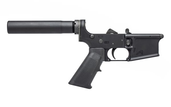 Aero Precision AR15 Pistol Complete Lower with A2 Grip - Anodized Black