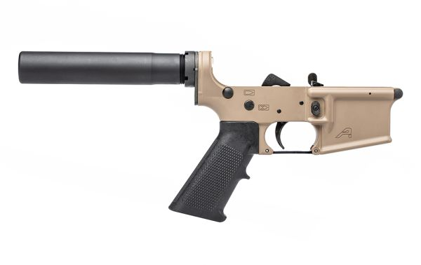 Aero Precision AR15 Pistol Complete Lower with A2 Grip - FDE Cerakote