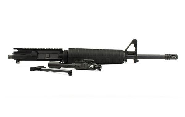 "Aero Precision AR15 16"" 5.56 Mid-Length Barrel Complete Upper w/ Pinned FSB & Mid Handguard"