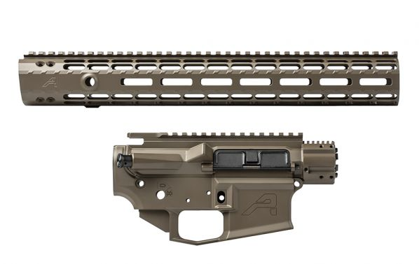 "M4E1 Builder Set w/ 15"" M-LOK Handguard - Patriot Brown"