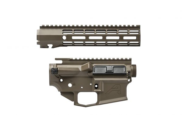 "M4E1 Builder Set w/ 9"" ATLAS R-ONE M-LOK Handguard - Patriot Brown"