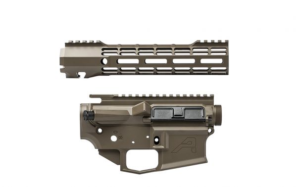 "M4E1 Builder Set w/ 9"" ATLAS S-ONE M-LOK Handguard - Patriot Brown"