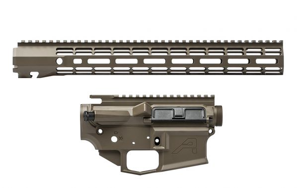 "M4E1 Builder Set w/ 15"" ATLAS R-ONE M-LOK Handguard - Patriot Brown"