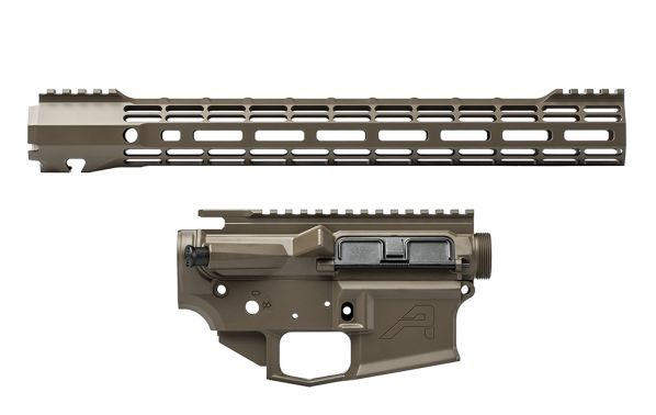 "M4E1 Builder Set w/ 15"" ATLAS S-ONE M-LOK Handguard - Patriot Brown"