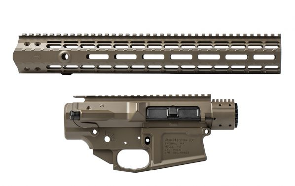 "M5E1 Builder Set w/ 15"" M-LOK Handguard - Patriot Brown"