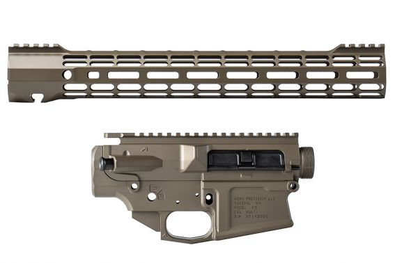 "M5 Builder Set w/ 15"" ATLAS S-ONE M-LOK Handguard - Patriot Brown"