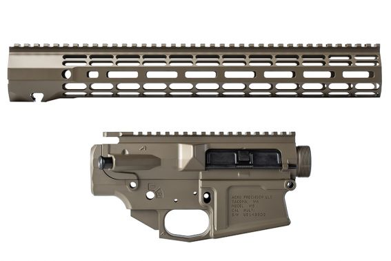 "M5 Builder Set w/ 15"" ATLAS R-ONE M-LOK Handguard - Patriot Brown"