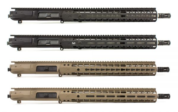 """Aero Precision M5E1 16"""" .308 Stainless Steel Complete Uppers"""