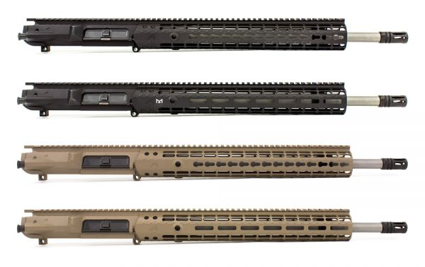 """Aero Precision M5E1 18"""" .308 Stainless Steel Complete Uppers"""