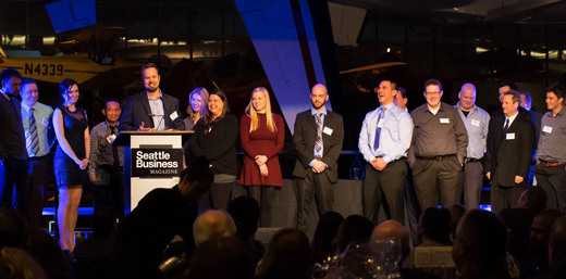 Aero Precision wins Seattle Business Magazine's 2017 Manufacturer of the Year