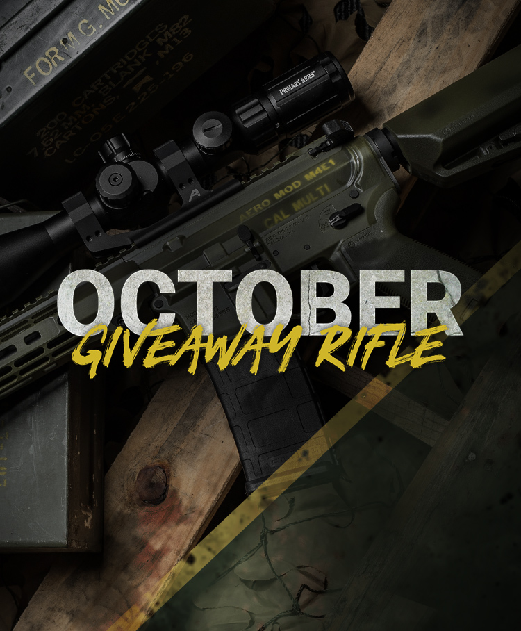Rifle Giveaway